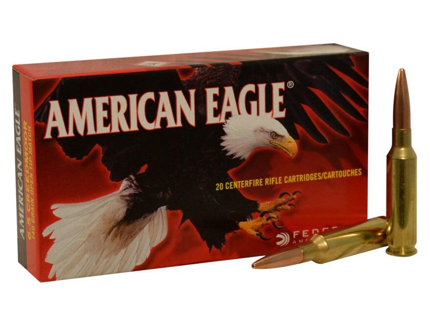 Federal American Eagle Ammo 6.5 Creedmoor 140 - UPC: 604544618013