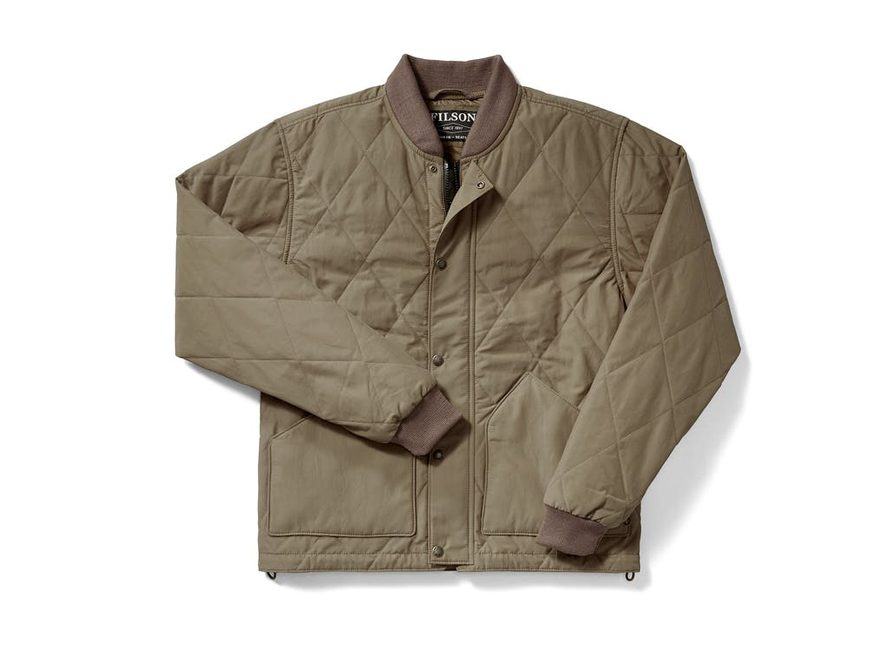 Filson Men's Quilted Primaloft Insulated Pack Jacket Cotton/Nylon