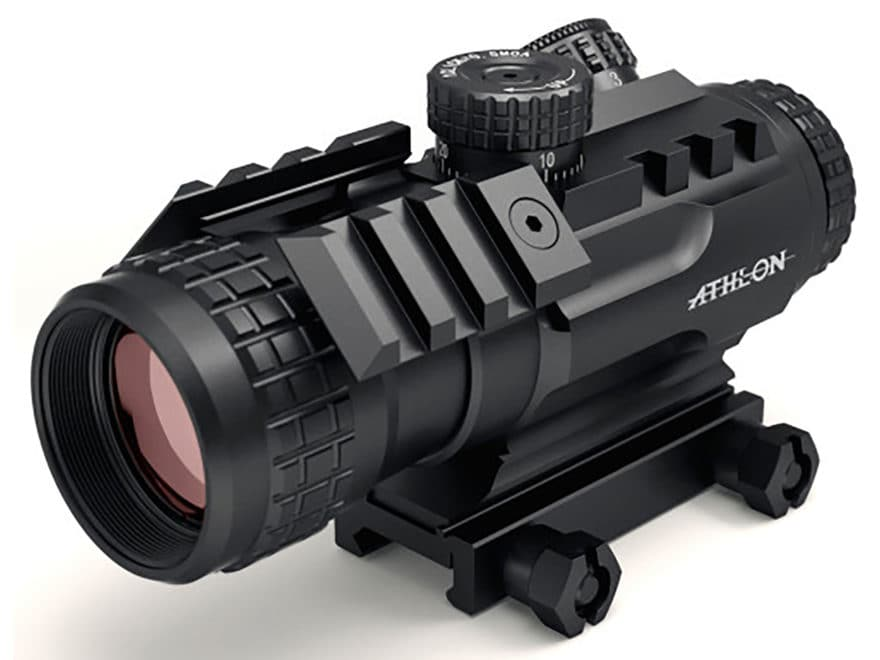 Athlon Optics Midas BTR PR41 Prism Sight 4x 34mm APSR41 Reticle with Picatinny-Style Mo...