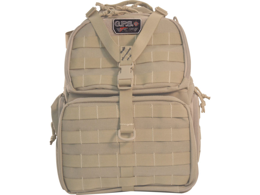 G.P.S. Tactical Range Bag Backpack