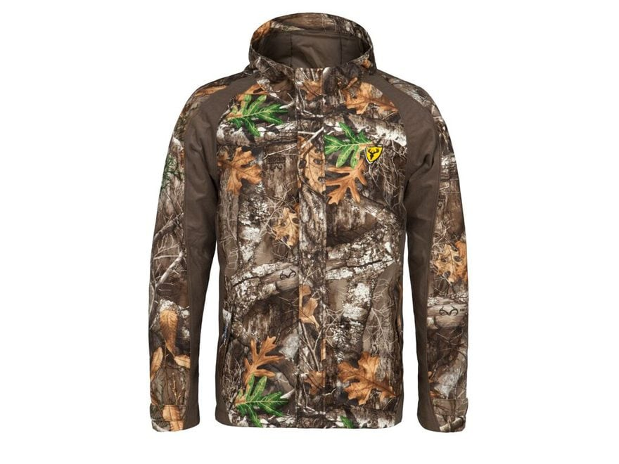 ScentBlocker Men's Drencher Scent Control Insulated Rain Jacket Polyester