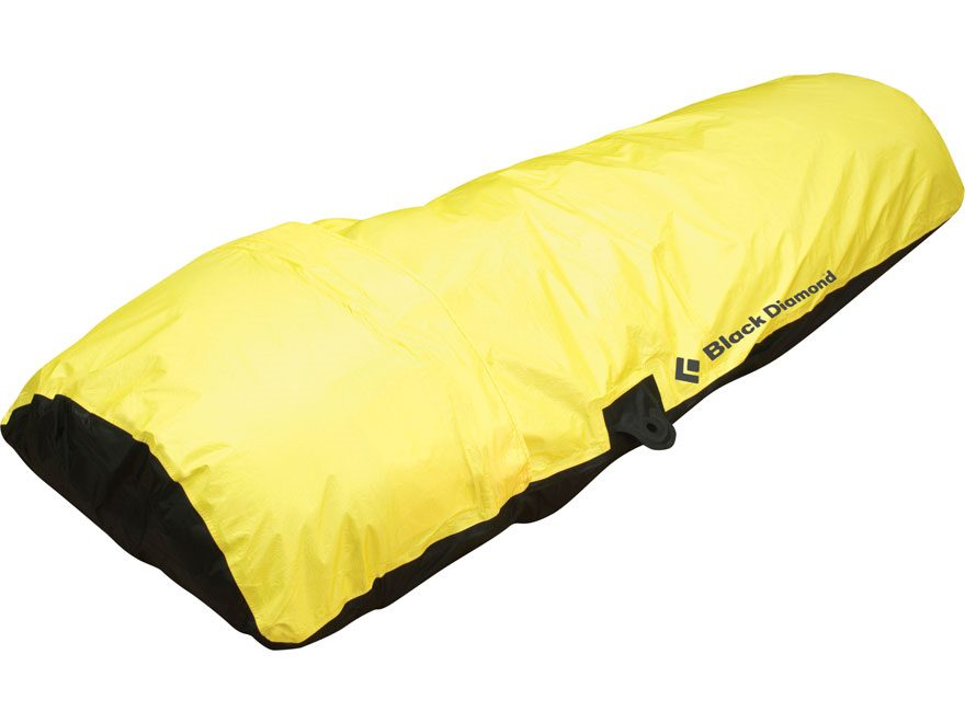 Black Diamond Equipment Big Wall Hooped Bivy ToddTex Fabric Yellow