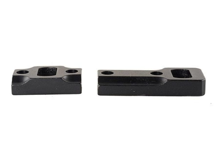 Leupold 2-Piece Dual-Dovetail Scope Base Browning A-Bolt Reversible Front