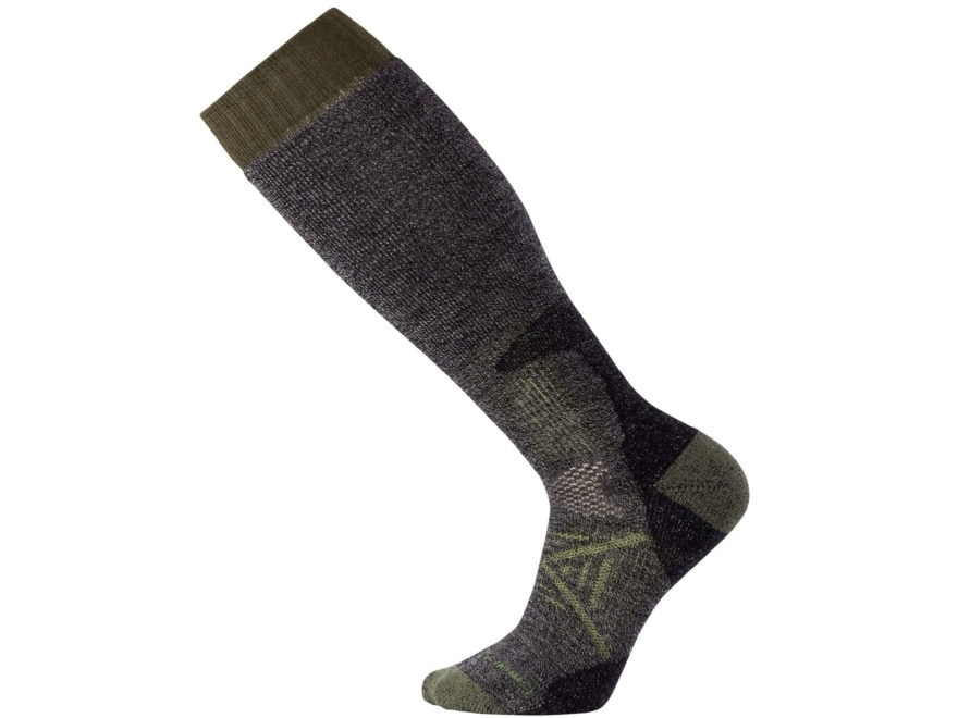 Smartwool Men's PhD Hunt Heavy Over-the-Calf Socks Merino Wool/Nylon