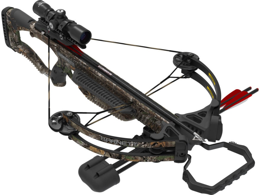 Barnett Whitetail Hunter II Crossbow Package with 4x32 Scope Realtree Xtra Camo