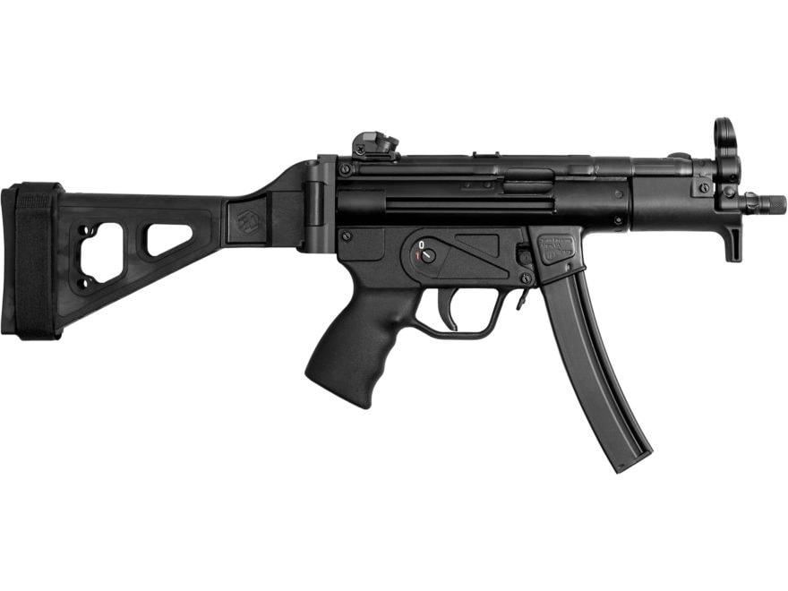 "Zenith Z-5P SB Classic Pistol 9mm Luger 5.8"" Barrel 30-Round Stabilizing Brace Matte Sy..."