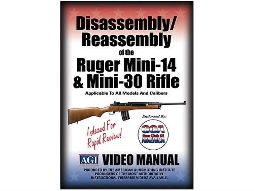 "American Gunsmithing Institute (AGI) Disassembly and Reassembly Course Video ""Ruger Min..."
