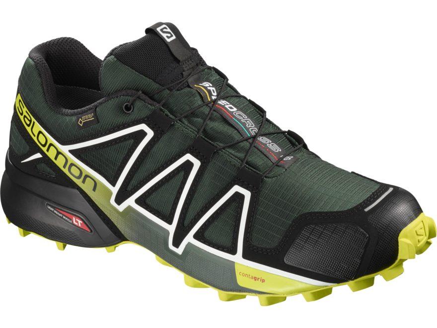 "Salomon Speedcross 4 GTX 4"" Waterproof GORE-TEX Trail Running Shoes Synthetic Men's"