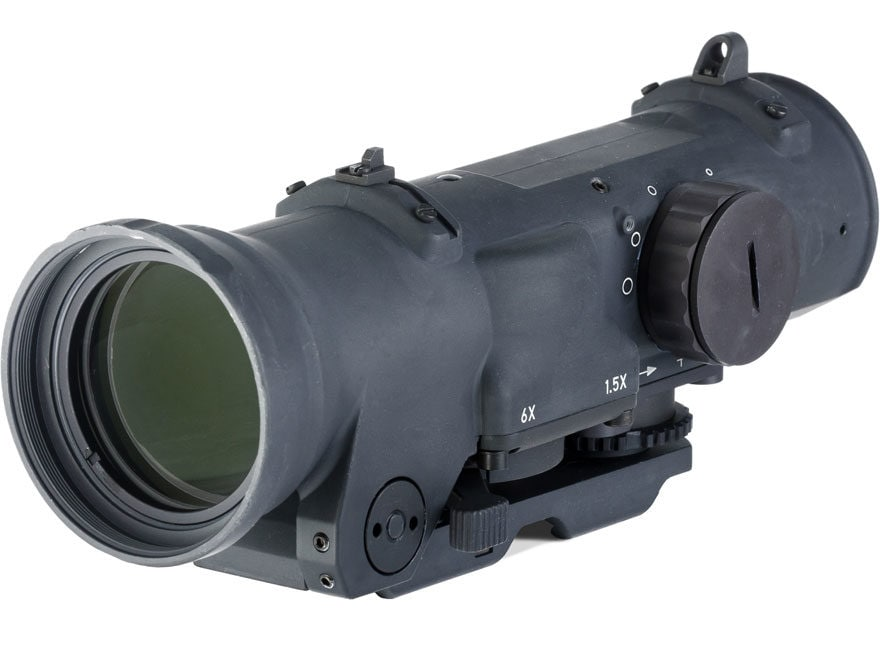 ELCAN SpecterDR Tactical Rifle Scope 1.5x:6x 42mm Switch Power Illuminated with ARMS Th...