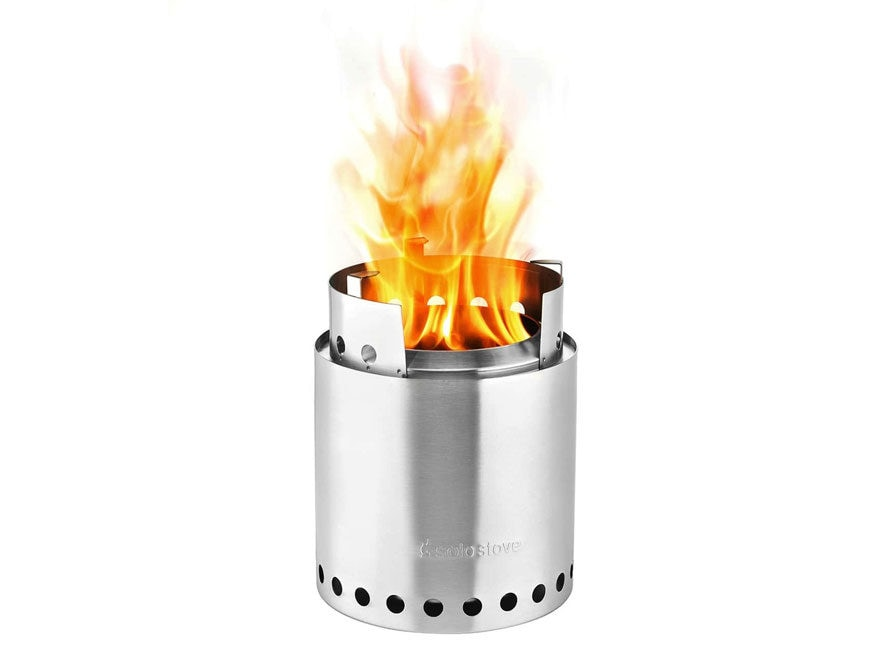 Solo Stove Campfire Camp Stove Stainless Steel