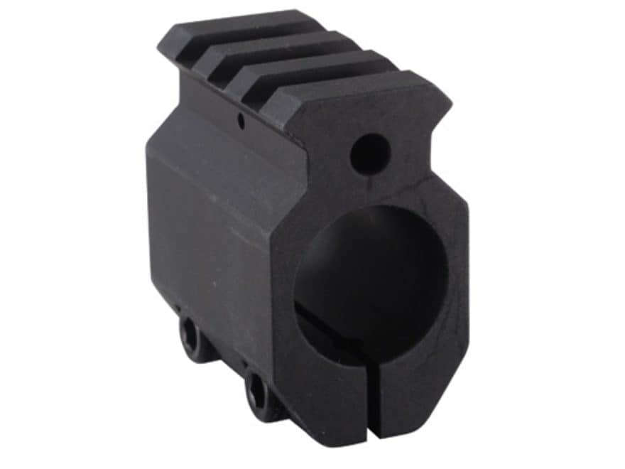 EGW Gas Block Single Picatinny Rail Clamp-On AR-15, LR-308 Standard Barrel