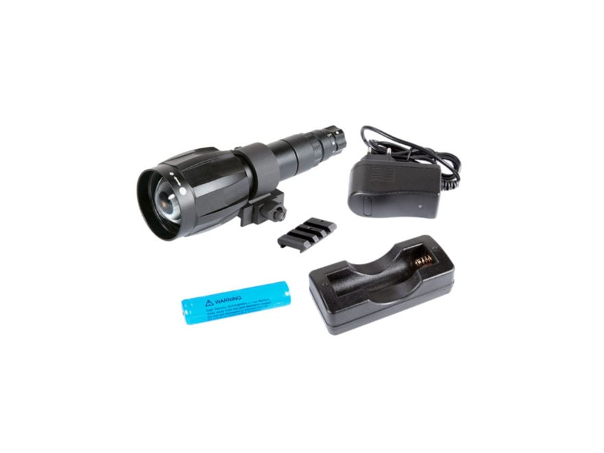 Armasight XLR-IR850 Detachable X-Long Range Infrared Illuminator with #21 Adapter, Rech...