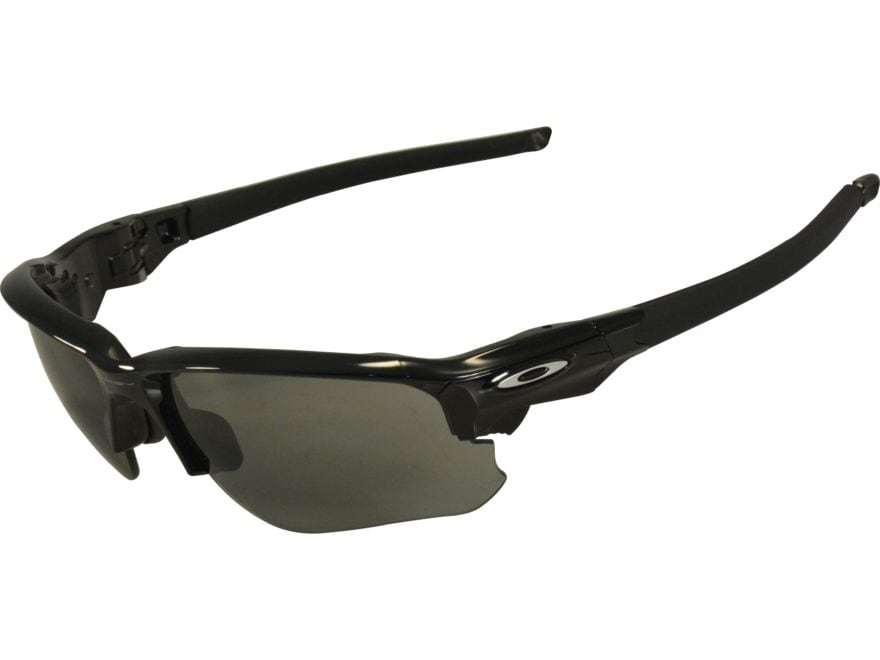 Oakley Flak Draft Sunglasses Polished Black Frame/Gray Lens