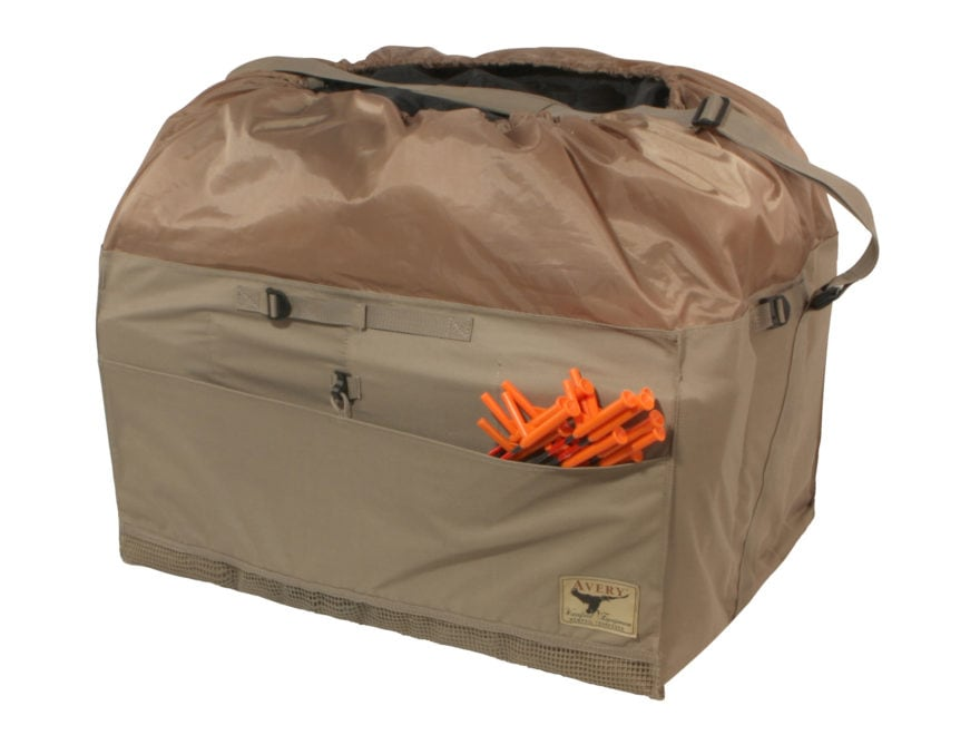Avery 12-Slot Mid-Size Goose Decoy Bag Polyester Field Khaki