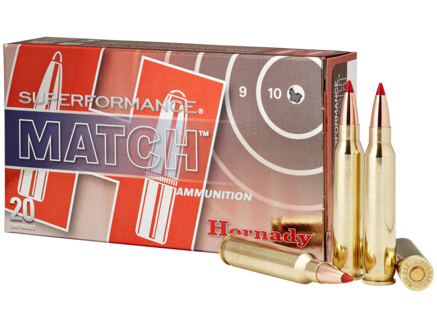 Hornady Superformance Match Ammunition 223 Remington 73 Grain ELD Match Box of 20