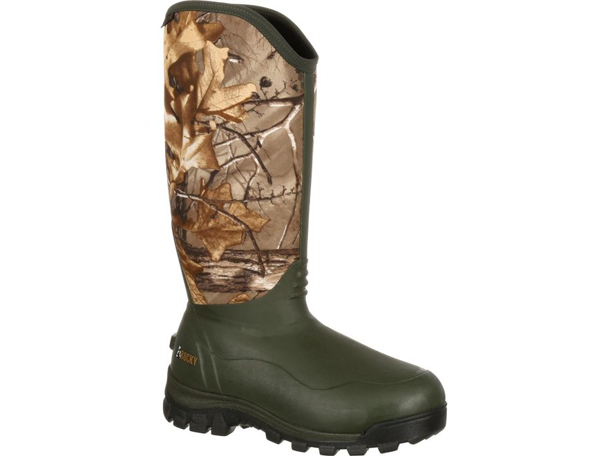 "Rocky Core 16"" Waterproof 1000 Gram Insulated Hunting Boots Neoprene and Rubber Realtre..."