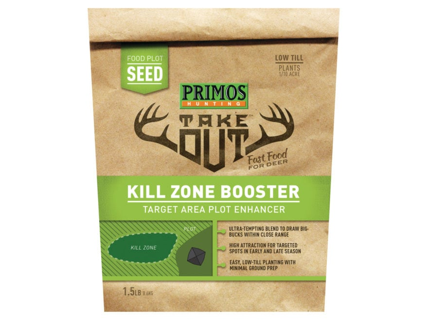 Primos Take Out Kill Zone Booster Food Plot Seed 1.5 lb