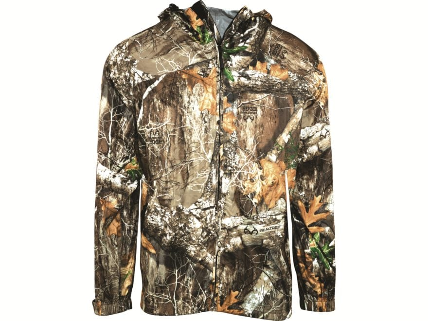 6802aded3f6c3 MidwayUSA Men's Bear Lake Packable Waterproof Rain Jacket Realtree