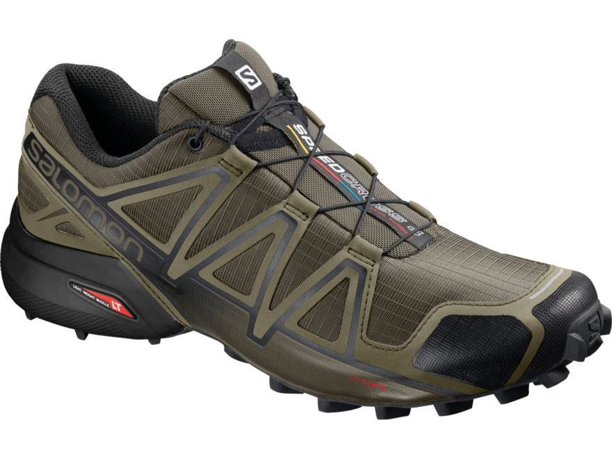 "Salomon Speedcross 4 4"" Trail Running Shoes Synthetic Men's"