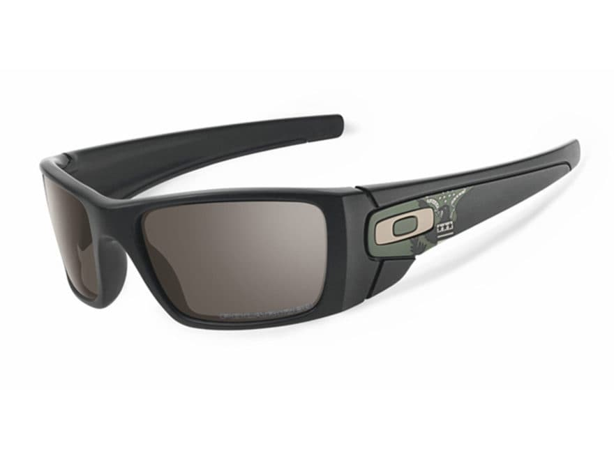d1f41de66 Oakley SI Fuel Cell Sunglasses OD Eagle Matte Black Frame/Grey Lens