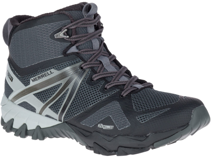 "Merrell MQM Flex Mid 5"" Waterproof Hiking Boots Nylon Men's"