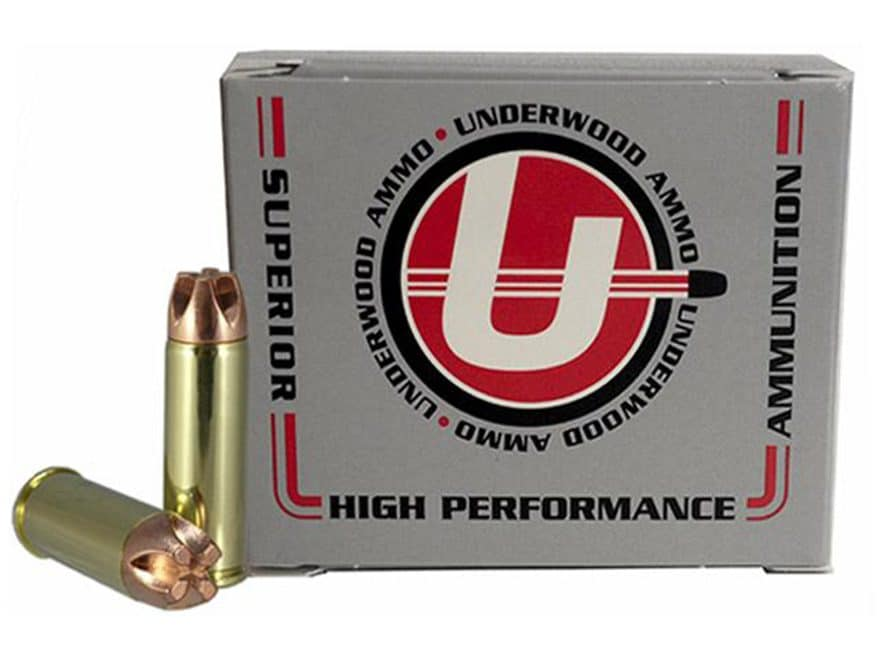 Underwood Ammunition 475 Linebaugh 300 Grain Lehigh Xtreme Penetrator Lead-Free Box of 20