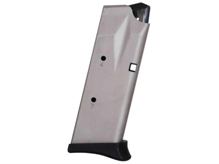 Bersa Magazine Bersa Thunder 45 Ultra Compact 45 ACP 7-Round Steel Nickel  Plated