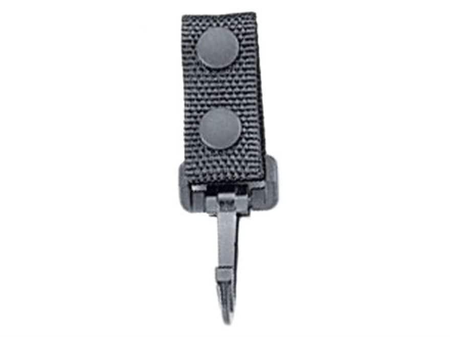 Uncle Mike's Standard Key Ring Holder Mirage Nylon Black