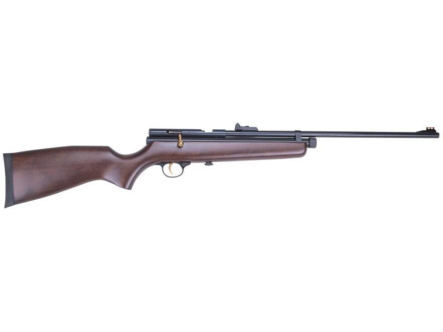 Beeman QB78 Deluxe CO2 Air Rifle Pellet Brown Wood Stock Blued Barrel