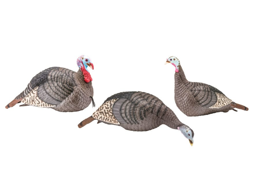 H.S. Strut Strut-Lite Flock Pack Turkey Decoy Combo