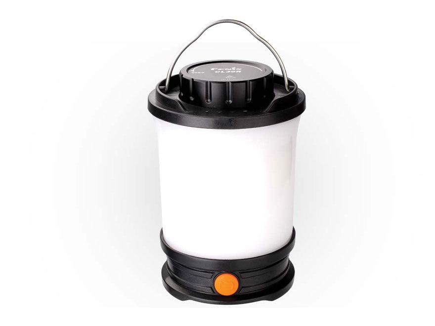 Fenix CL30R Lantern with 3 USB Rechargeable 18650 Li-ion Batteries Polymer Black