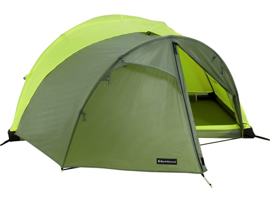Black Diamond Equipment Hilight Tent Vestibule SilPoly Fabric Wasabi