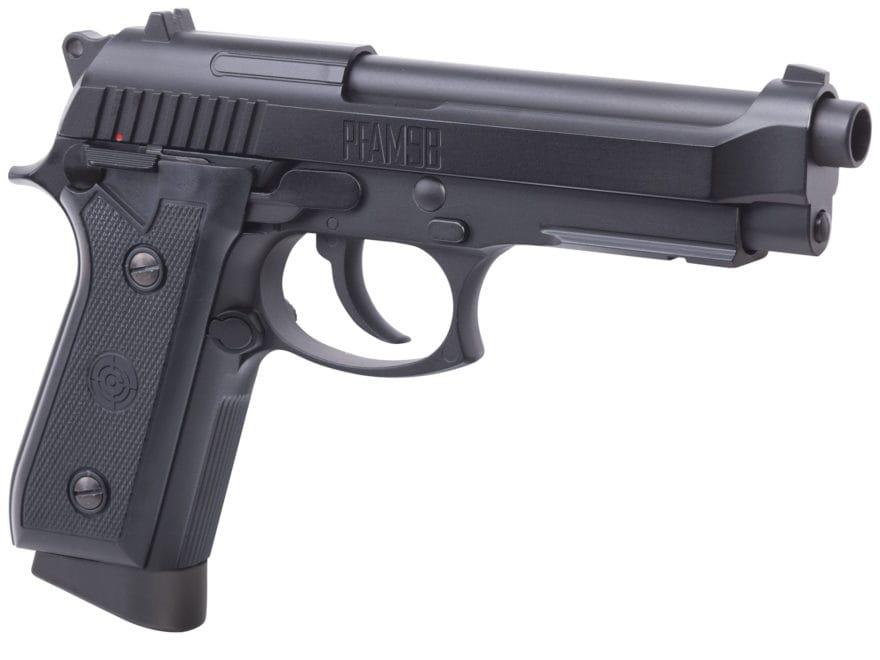 Crosman PFAM9B Full Auto Air Pistol 177 Caliber BB Black