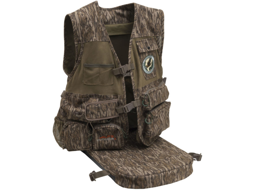 c97522cf3a114 ALPS Outdoorz NWTF Super Elite Turkey Vest Mossy Oak Bottomland Camo