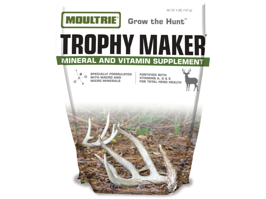 Moultrie Trophy Maker Feed Additive Deer Supplement 4 lb