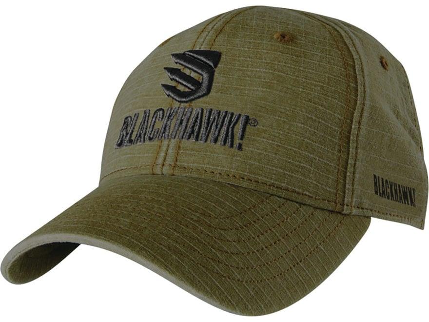 BLACKHAWK! Weathered Ripstop Logo Cap