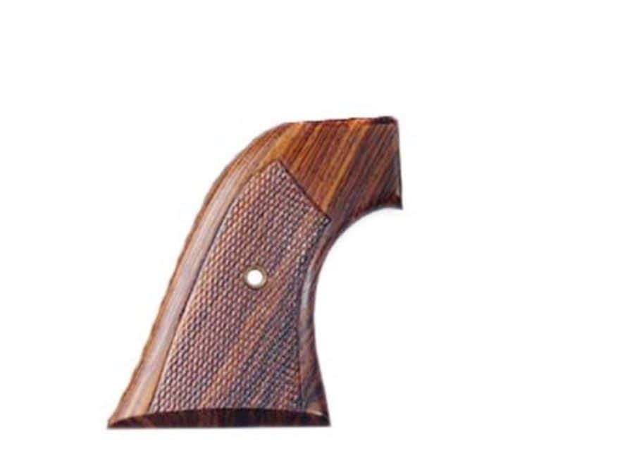 Hogue Cowboy Grips Colt Single Action Army Checkered Cocobolo