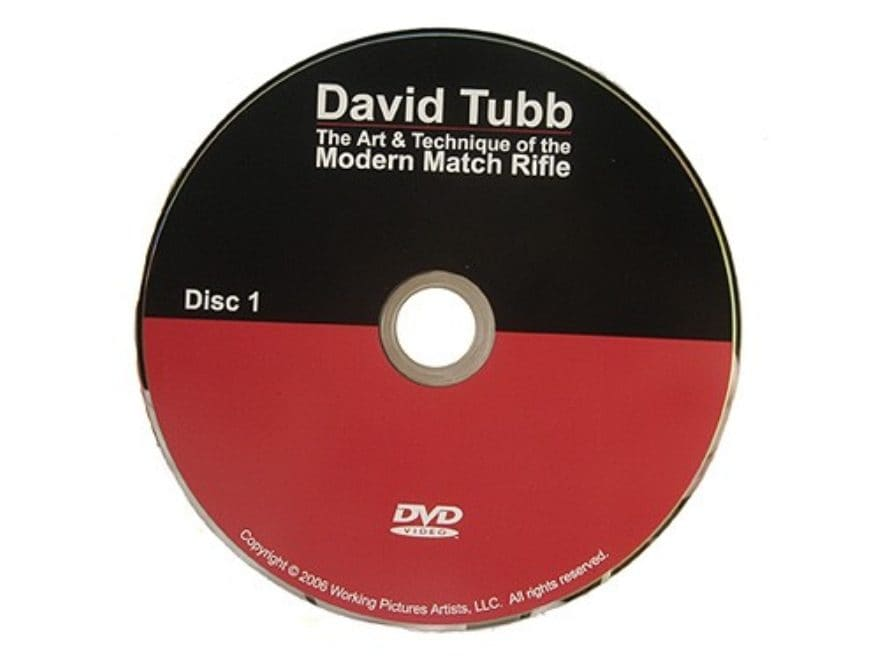 "David Tubb Video ""The Art & Technique of the Modern Match Rifle"" DVD"