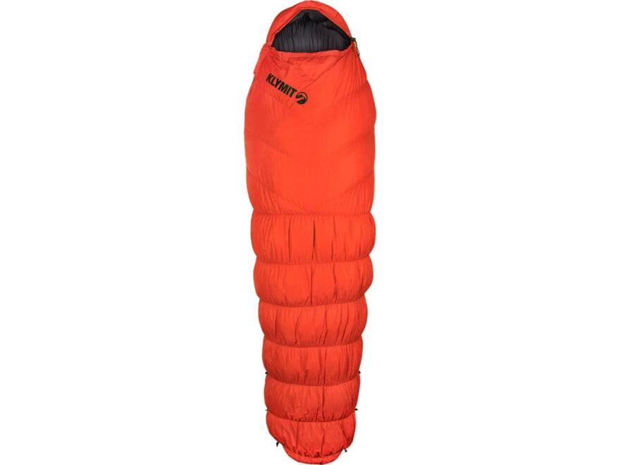 Klymit KSB 0 Degree Down Sleeping Bag Polyester Orange