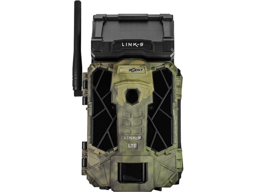 Spypoint Link-S Solar Cellular Infrared Game Camera 12MP Camo