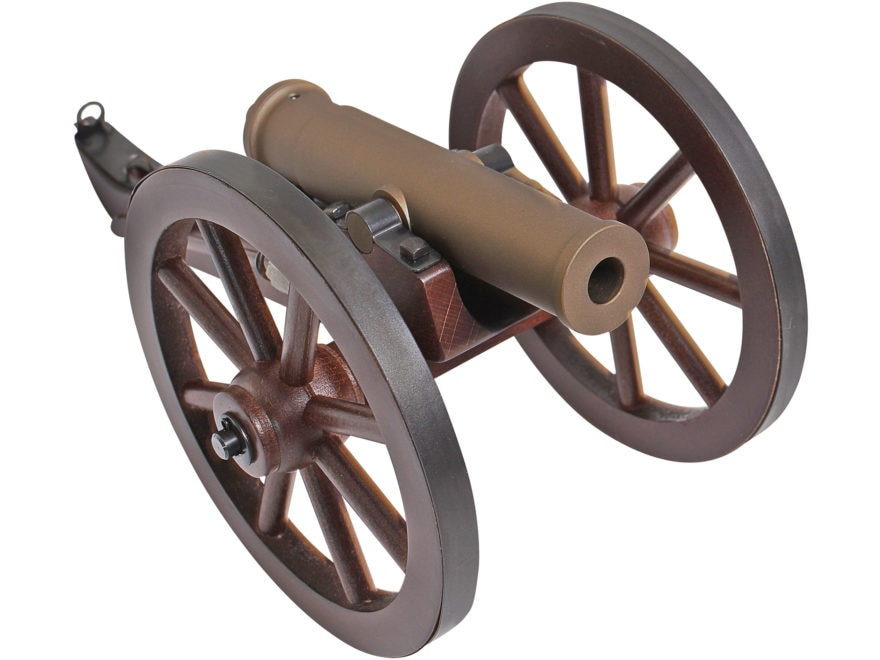 "Traditions Mountain Howitzer Black Powder Cannon 50 Caliber 6.75"" Bronze Cerakote Barre..."