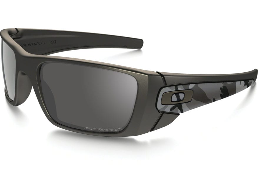 3789fdff151b Oakley Fuel Cell Polarized Sunglasses Carbon Camo Frame/Black Iridium Lens