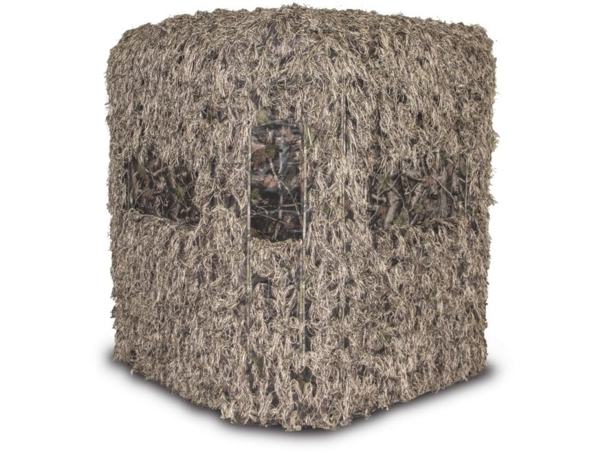 Redneck Blinds Soft Side 6X6 Ghille 360  Deluxe Blind Camo