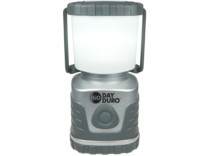 UST 60-Day Duro LED Lantern Requires 6 D Batteries ABS Plastic Titanium