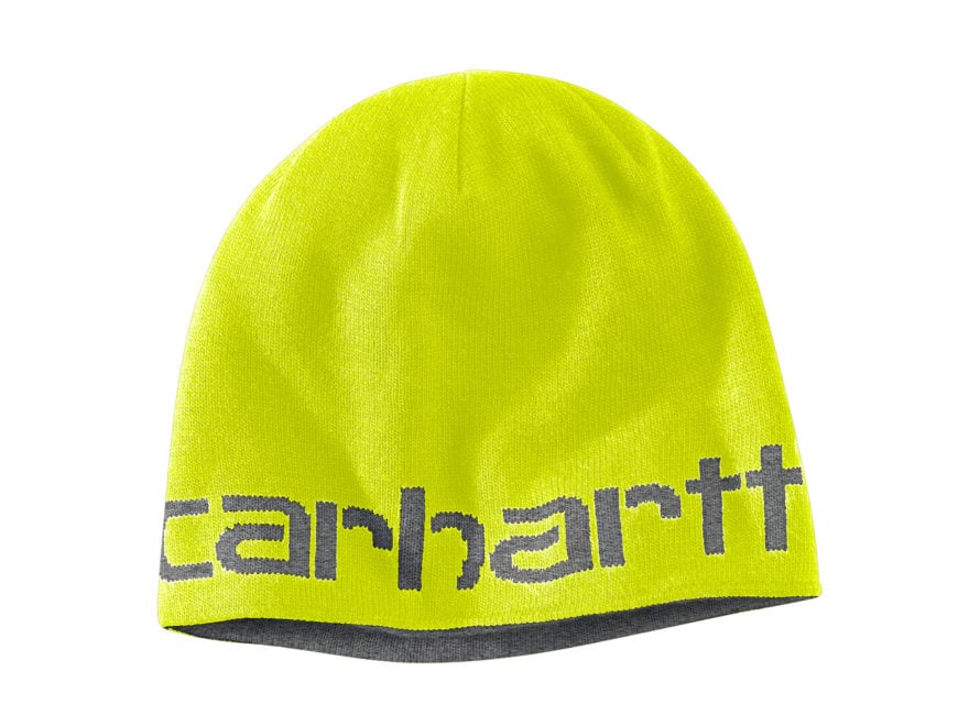 Carhartt Men's Greenfield Reversible Beanie Heathered Acrylic