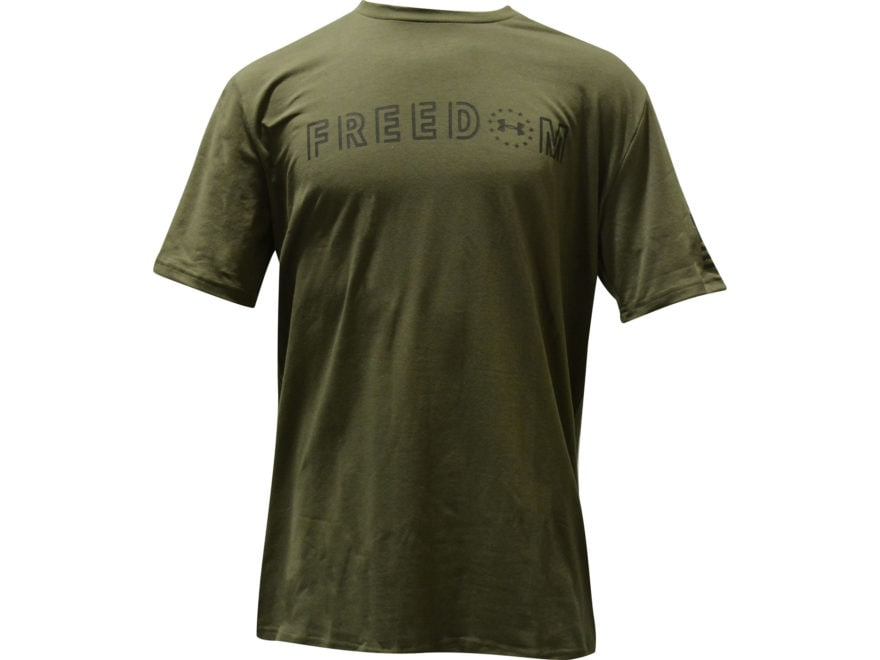 Under Armour Men's UA Freedom Bold T-Shirt Short Sleeve Charged Cotton