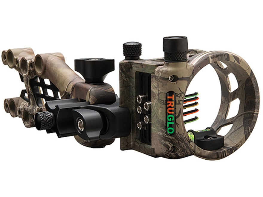 TRUGLO Carbon Hybrid Micro Adjust 5 Pin Bow Sight