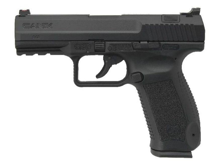 "Canik TP9 DA Semi-Auto Pistol 9mm Luger 4.07"" Barrel 18-Round Magazine Polymer"