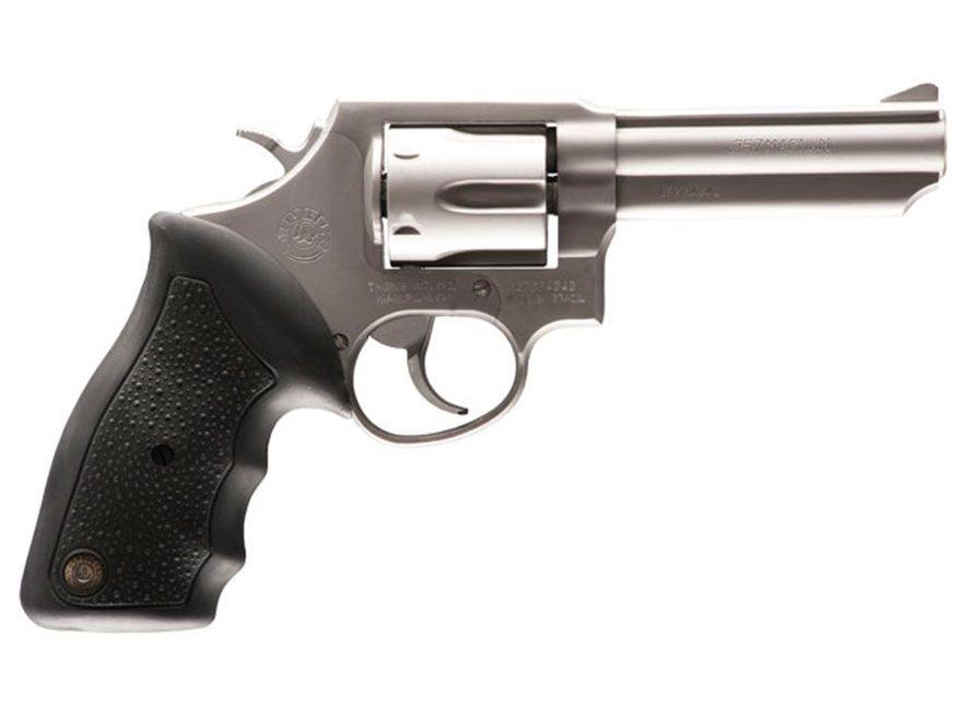 """Taurus 65 Revolver 357 Magnum 4"""" Barrel 6-Round Black Rubber"""