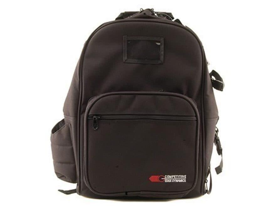 CED Shooter's Backpack Range Bag Nylon Black